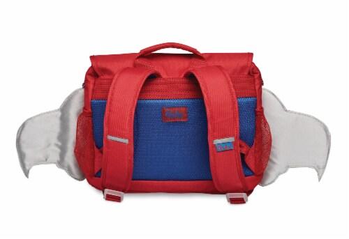 Bixbee Small Firebird Flyer Backpack Perspective: back