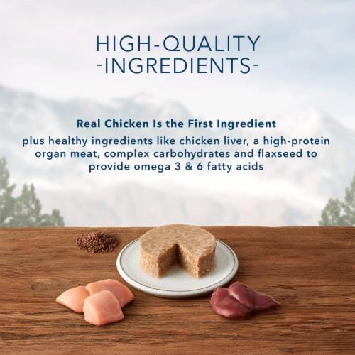 Blue Wilderness Chicken Recipe Wet Cat Food Perspective: back