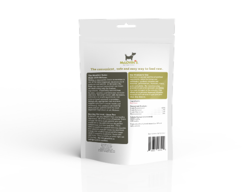 Beef Liver 100% Freeze-dried Premium Dog Treats Perspective: back