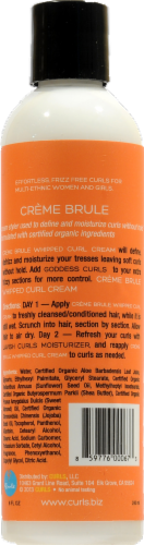 Curls Creme Brule whipped Curl Cream Perspective: back