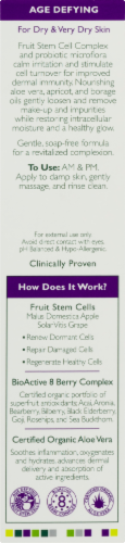 Andalou Naturals Apricot Probiotic Cleasning Milk Perspective: back