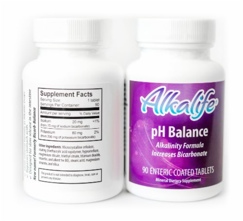 Alkalife pH Balance Tablets Perspective: back