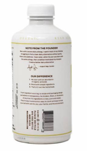 Malk Organic Unsweetened Vanilla Almond Malk Perspective: back