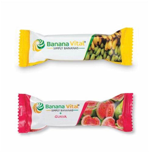Banana Vital Simply Bananas & Simply Bananas Plus Guava Fruit Bar Bundle Perspective: back