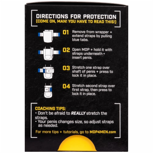 MDP Male Drip Protection Light Absorbent Sleeves Perspective: back