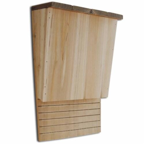 vidaXL Bat Houses 4 pcs 8.7 x4.7 x13.4  Wood Perspective: back