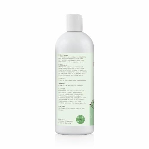 OMEGA MAX Pet Shampoo Perspective: back