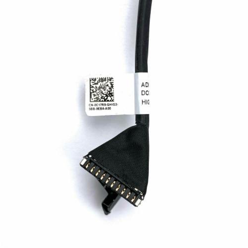 NEW Battery Cable Compatible with Dell Latitude 5470 E5470 DC020027E00 C17R8 0C17R8 Perspective: back