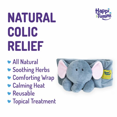 Happi Tummi:All Natural Fast Relief Waistband for Colic & Gas in Babies and Toddlers:Elphi Perspective: back