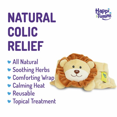 Happi Tummi:All Natural Fast Relief Waistband for Colic & Gas in Babies and Toddlers: Maw Maw Perspective: back