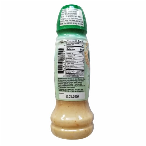 Norita Natural Wasabi Sesame Dressing Perspective: back
