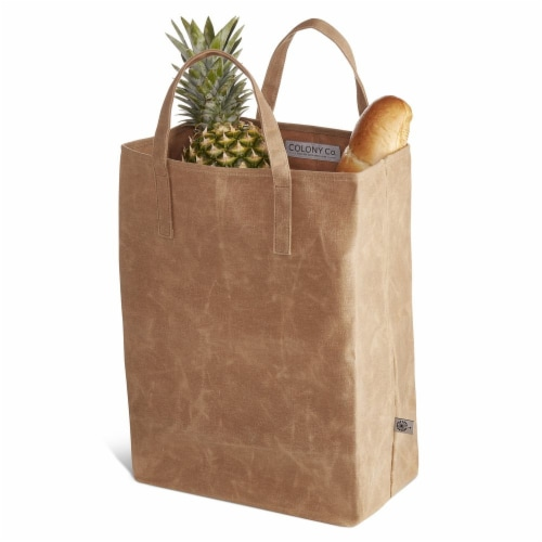 World's Strongest Grocery Bag - Brown Perspective: back