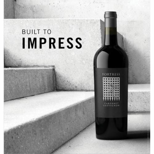 Fortress Cabernet Sauvignon Red Wine Perspective: back