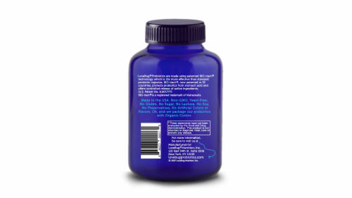 Lovebug Probiotics Here's the Skinny Digestive Health Capsules Perspective: back