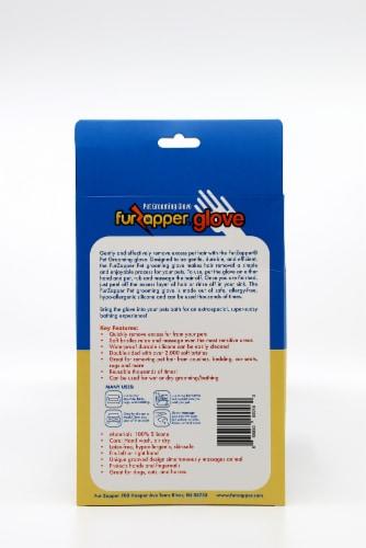 FurZapper Pet Grooming Glove Perspective: back