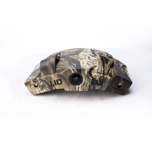LIDCAM LC-WF Hat Mounted 1080P HD Action Camera with Full Audio and Wifi, Camo Perspective: back