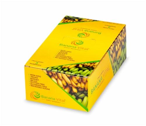 Banana Vital Simply Bananas Fruit Bar Box - 18 Bars Perspective: back