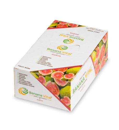 Banana Vital Simply Bananas Plus Guava Fruit Bar Box - 18 Bars Perspective: back