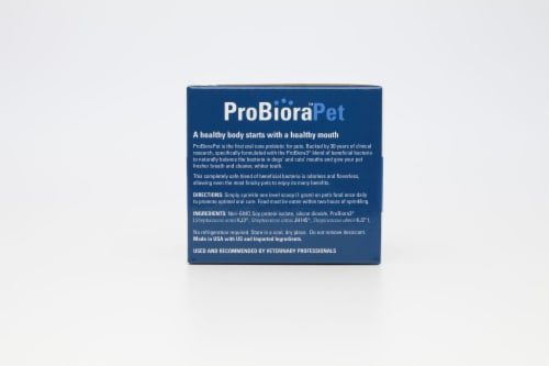 ProBioraPet Oral Care Probiotics for Pets | Support Healthy Teeth and Gums | Freshen Breath Perspective: back