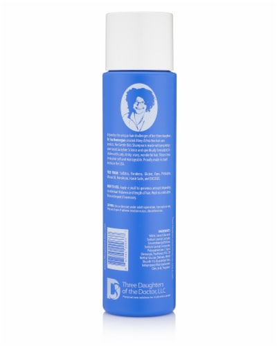 Many Ethnicities KIDS Gentle Shampoo Perspective: back