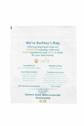 Barkley's Bag Center Cut Beef Marrow Bones Perspective: back