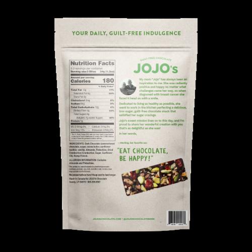 JOJO's Original Guilt-Free Chocolate Bites Perspective: back