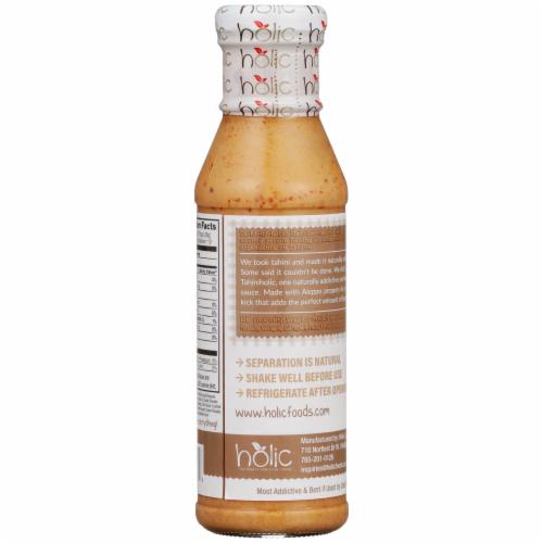 Holic Foods Tahiniholic Tahini Sauce & Dressing Perspective: back