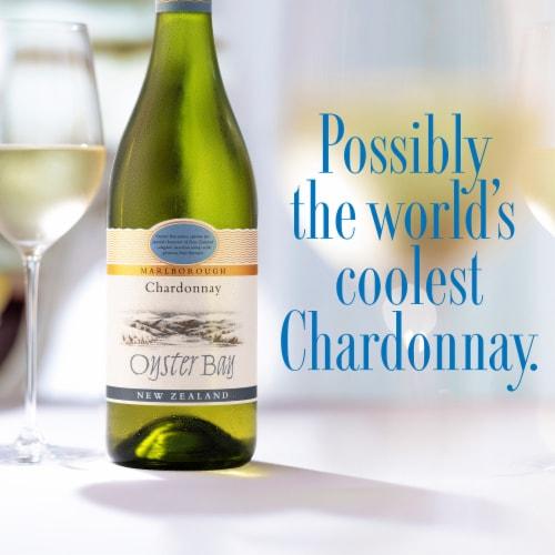Oyster Bay Marlborough Chardonnay Perspective: back