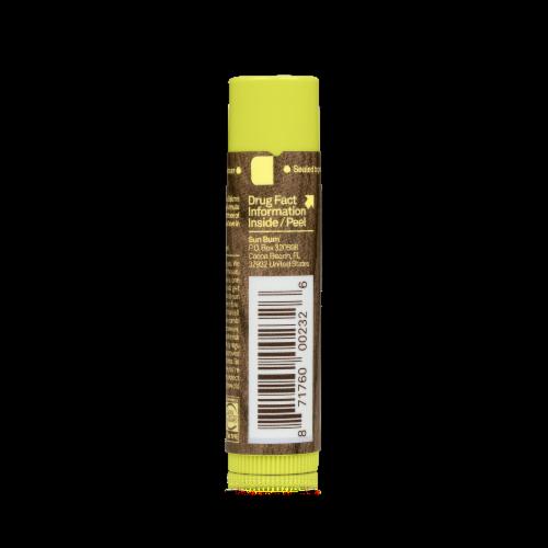 Sun Bum Pineapple Sunscreen Lip Balm SPF 30 Perspective: back