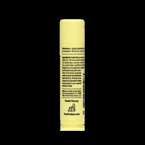 Sun Bum Banana Cream CocoBalm Lip Balm Perspective: back