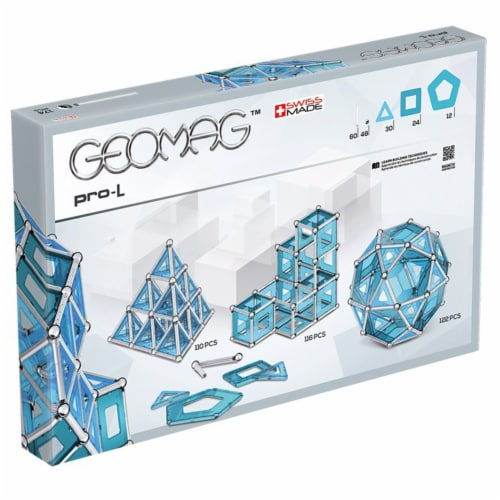 Geomag PRO L Magnetic Construction Set Perspective: back