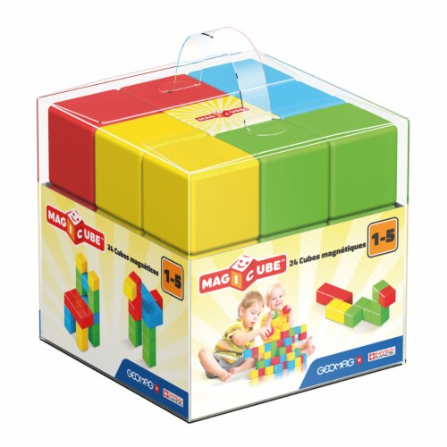 Geomag Magicube Free Building Set - 24 Magnetic Blocks Perspective: back