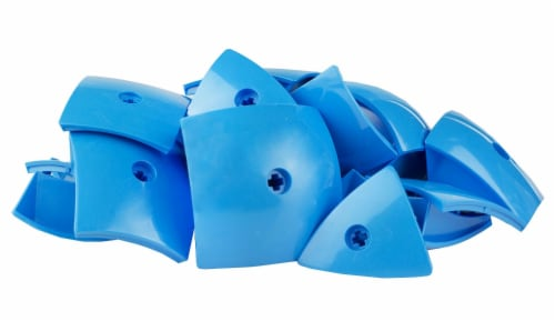 Geomag Kor Egg Covers - Blue - 26-Piece Creative Magnet Cover Addition Perspective: back