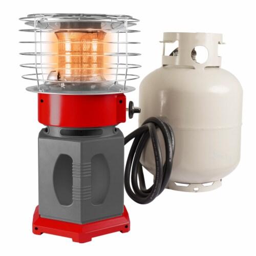 Dyna-Glo 10K BTU HeatAround 360 Heater - Red Perspective: back
