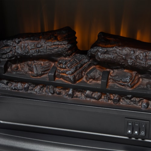 Pleasant Hearth Infrared Electric Stove with 2-Stage Heater Perspective: back