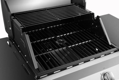 Dyna-Glo Premier 2-Burner Natural Gas Grill Perspective: back