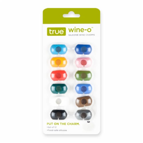 Wine-O™: Silicone Wine Charms Perspective: back