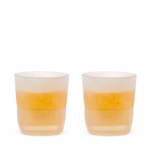 Glass FREEZE™ Whiskey Glass (set of two) by HOST® Perspective: back
