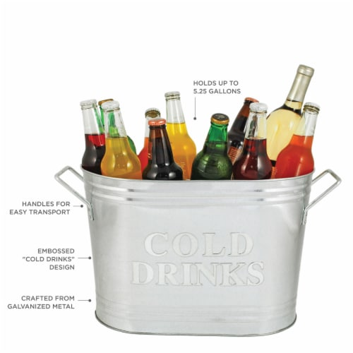 True Fabrications Cold Drinks Ice Bucket Perspective: back