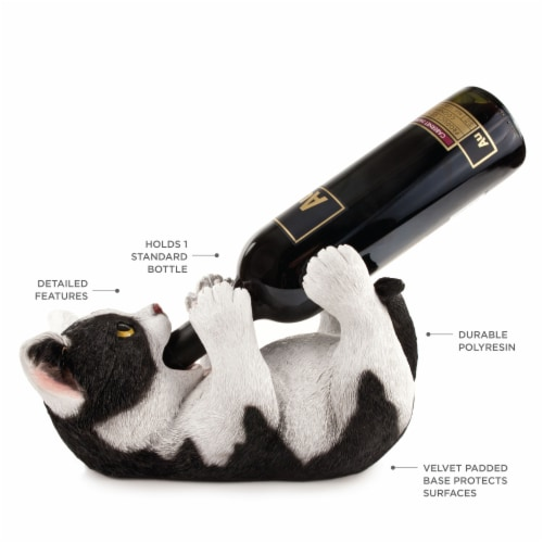 Klutzy Kitty Bottle Holder by True Perspective: back