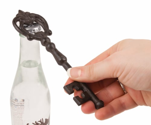 Cast Iron Key Bottle Opener by Twine® Perspective: back