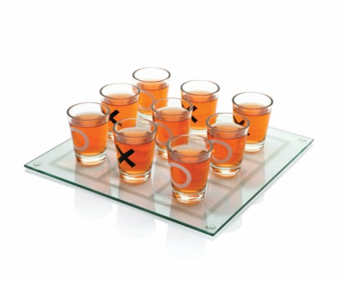 Tic Tac Shot™ Drinking Board Game Perspective: back