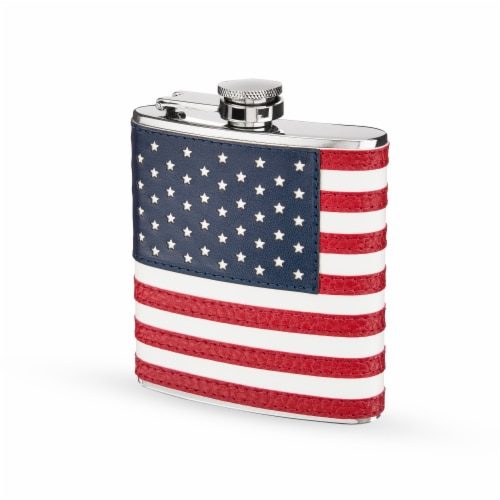 American Flag Flask by Foster & Rye™ Perspective: back