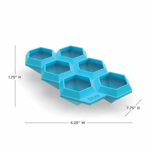Iced Out Diamond Ice Cube Tray Perspective: back
