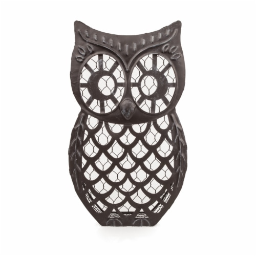 Wise Owl Cork Collector by Twine® Perspective: back