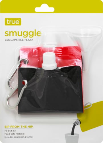True Fabrications Smuggle Collapsible Flask - Assorted Perspective: back