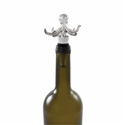 Octopus Bottle Stopper by Twine® Perspective: back
