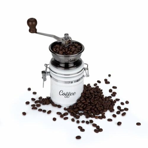 Ceramic Coffee Grinder by Twine® Perspective: back