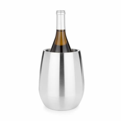 Stainless Steel Bottle Chiller by Viski® Perspective: back
