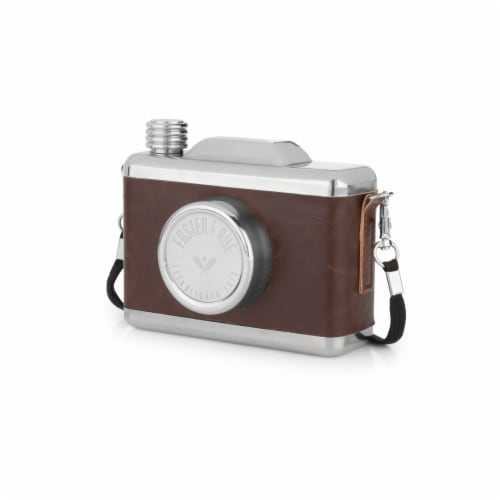 Stainless Steel Snapshot Flask by Foster & Rye™ Perspective: back